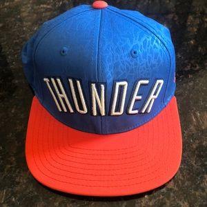Oklahoma Thunder adidas NBA SnapBack baseball cap